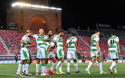 Il Sassuolo non si ferma più, 2-1 al Bologna