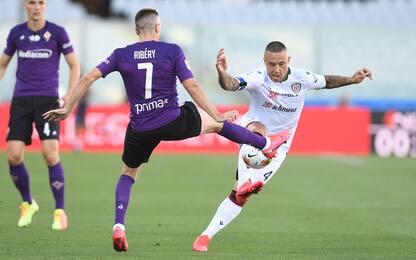Dragowski e Cragno super, Fiorentina-Cagliari 0-0