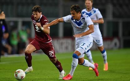 Toro-Brescia, la Lega: è autogol di Mateju. VIDEO