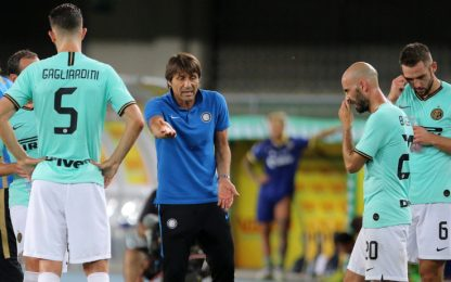 "Conte: ""Punti buttati. Dirò al club cosa serve"""