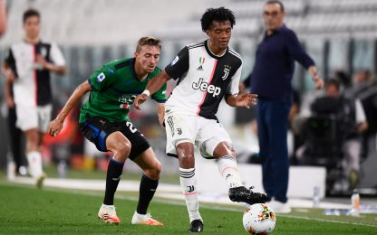 Juve-Atalanta 1-1 LIVE: chance per Hateboer