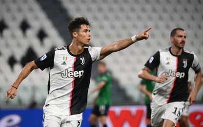 CR7 salva la Juve al 90': con l'Atalanta è 2-2