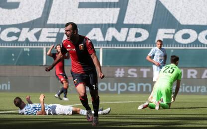 Genoa-Spal 1-0 LIVE: Letica para rigore a Falque
