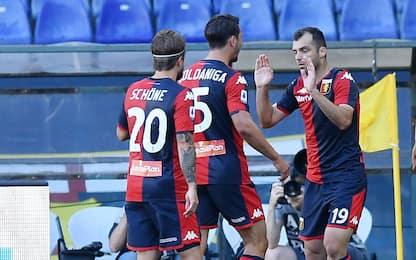 Genoa-Spal 2-0 LIVE: Schone, punizione capolavoro