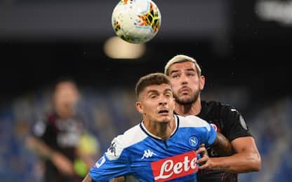 Napoli-Milan 1-1 LIVE, pareggia Di Lorenzo