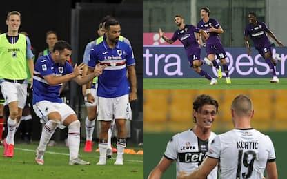 Samp, colpo salvezza. Pari per Fiorentina e Parma