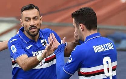 """Quagliarella: """"Bonazzoli? Deve stare in area..."""""""