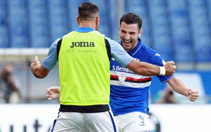 Samp-Cagliari 3-0 LIVE:  Bonazzoli cala il tris