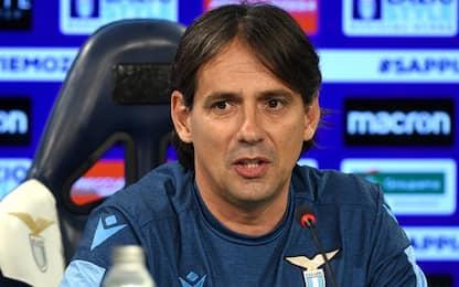 """Inzaghi: """"Anno memorabile, pieni voti alla Lazio"""""""