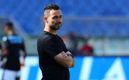 """De Zerbi: """"Obiettivo ottavo posto, stimo Gattuso"""""""