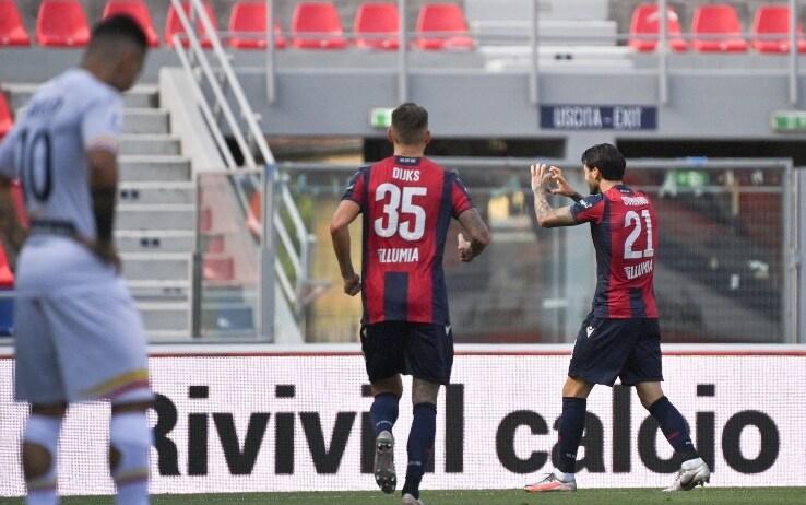 Bologna-Lecce 3-2, gol e highlights: Barrow stende Liverani, Genoa ...