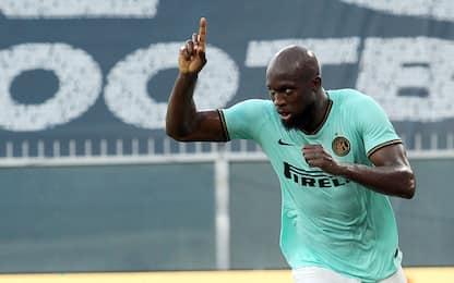 Inter, gol al 1° anno: Lukaku fenomeno 3° all time