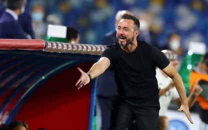 """De Zerbi: """"VAR? Fastidio, ma ha migliorato calcio"""""""