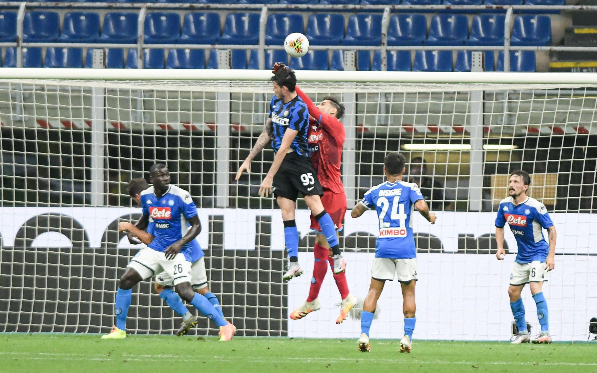 Inter-Napoli 1-0, il risultato in diretta LIVE: gol di D'Ambrosio thumbnail
