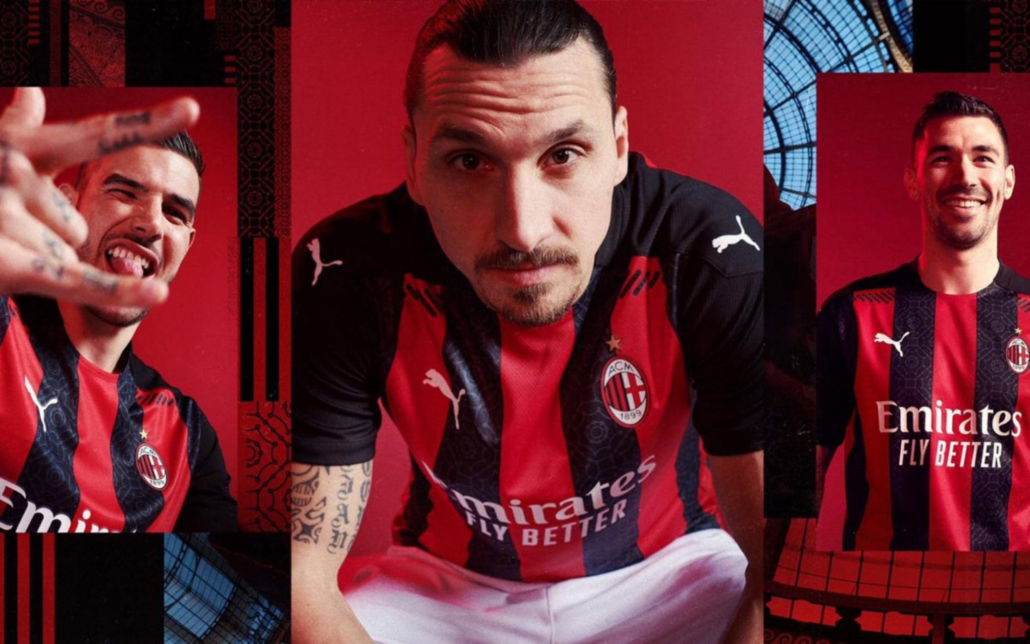 Milan, la nuova maglia rossonera per il 2020 2021. FOTO | Sky Sport