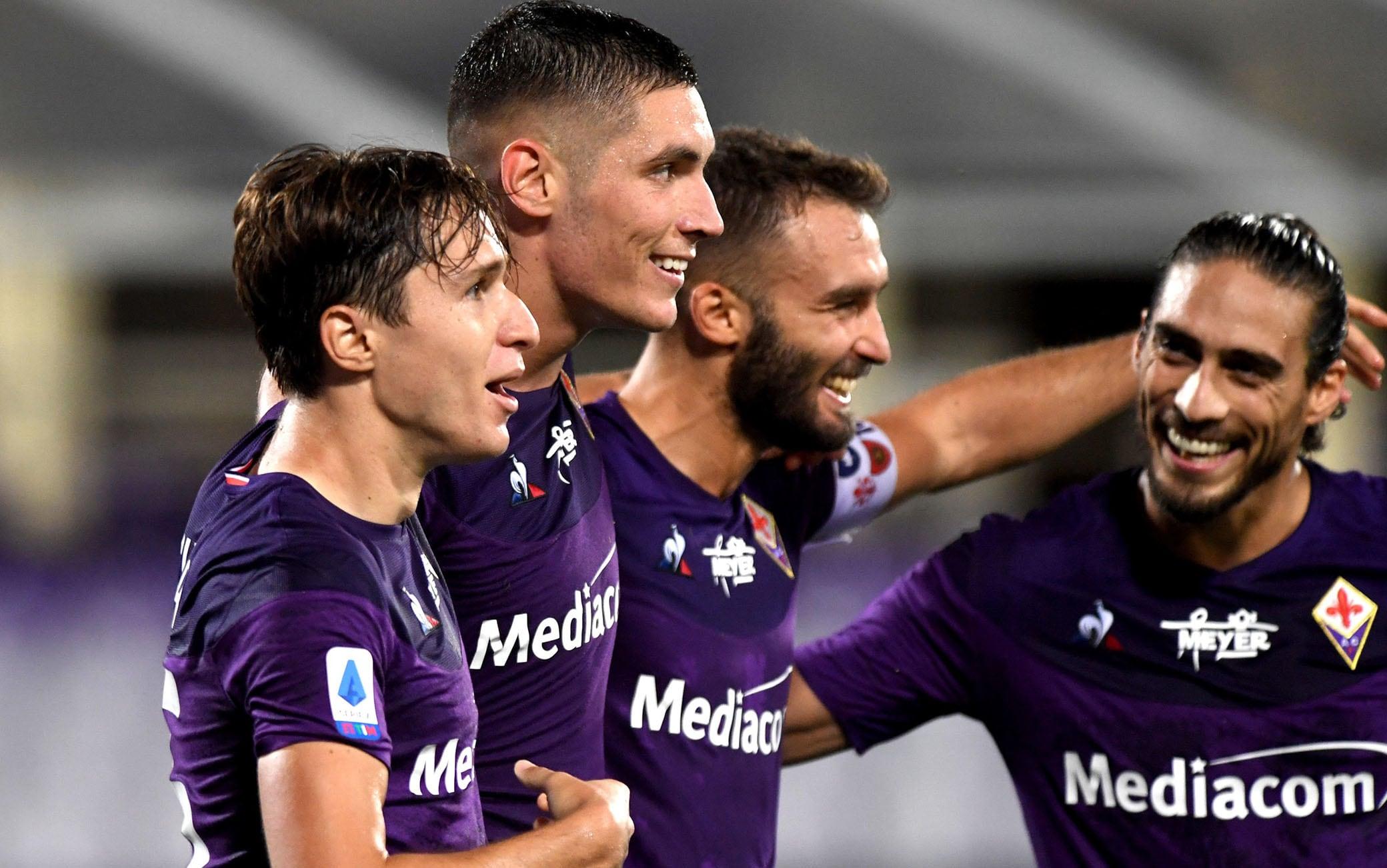 Fiorentina-Bologna 4-0, gol e highlights. Tripletta di Chiesa, Iachini ...