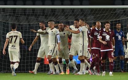 La Roma sigilla il 5° posto: Torino rimontato 3-2
