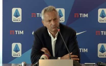 """Dal Pino: """"Ipotesi slittamento inizio Serie A"""""""