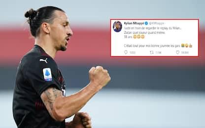 """Mbappé esalta Ibra: """"Che giocatore a 38 anni"""""""