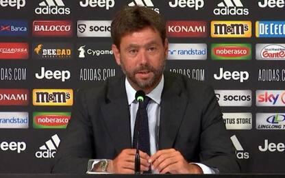 """Agnelli: """"Anno duro, ma ora obiettivo Lisbona"""""""