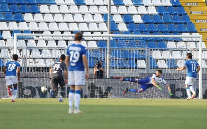 Torregrossa risponde a Leris, 1-1 Brescia-Samp