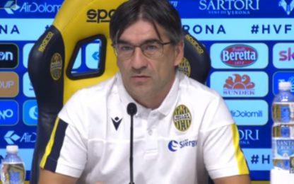 "Juric: ""Col Genoa sarà gara seria"""