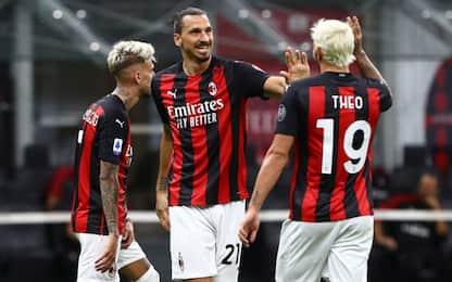 Milan, finale col botto: 3-0 show col Cagliari