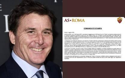 Roma: Friedkin-Pallotta, firmato preliminare