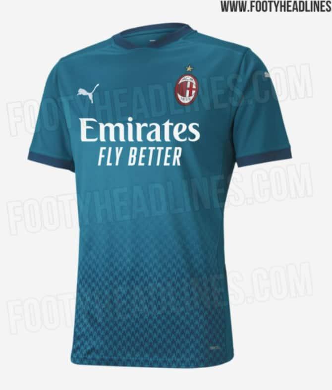 Milan, terza maglia 2021: le anticipazioni di Footy Headlines ...