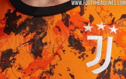 """Juve in """"orange""""? Anticipata la terza maglia. FOTO"""