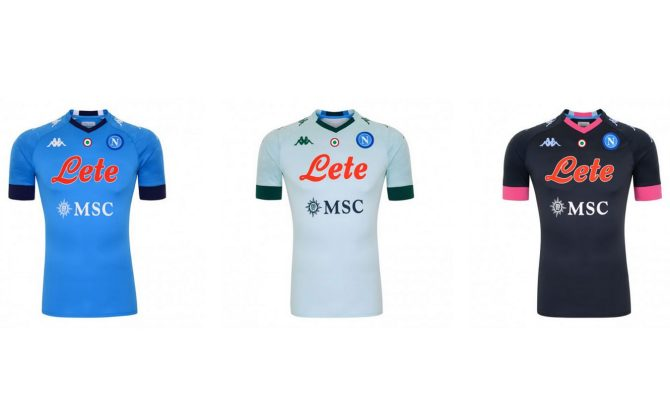 Napoli, presentate le nuove maglie per il 2020 2021. Foto   Sky Sport