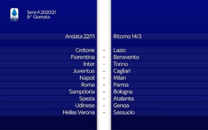 Calendario Serie A 2020 2021 completo: tutte le giornate | Sky Sport