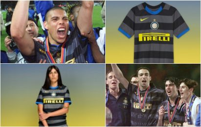 Inter, ecco la terza maglia: omaggio al 1998