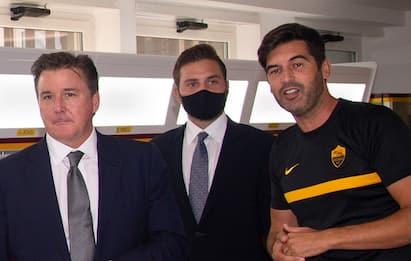 Roma, Friedkin ha incontrato Fonseca e la squadra