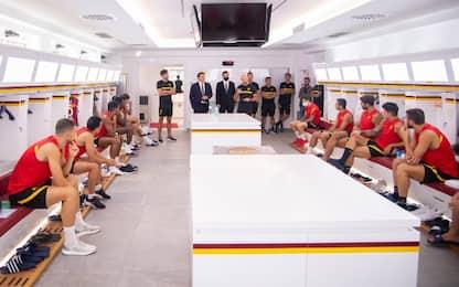 Friedkin a Roma: incontro con la squadra. VIDEO