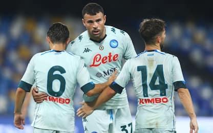 Il Napoli 'scopre' Petagna: battuto il Pescara 4-0
