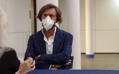 """""""Il calcio che vorrei"""": la tesi di Andrea Pirlo"""