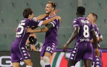 La Viola vince all'esordio: Torino battuto 1-0