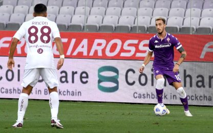 Fiorentina-Torino 0-0 LIVE: Biraghi, gol annullato