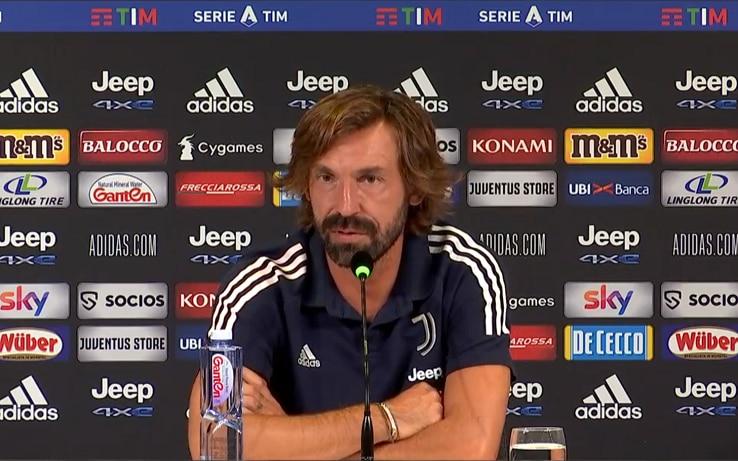 "Roma-Juve, Pirlo: ""Dzeko purtroppo avversario. Dybala ..."