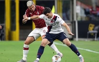 Milan-Bologna: a San Siro medici anti Covid-19