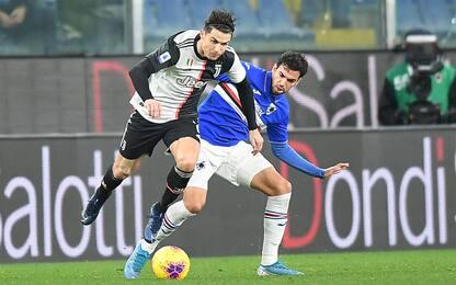 Juve-Sampdoria, le probabili formazioni