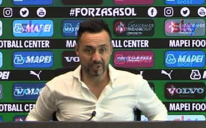 "De Zerbi: ""Europa League? Non mi tiro indietro"""