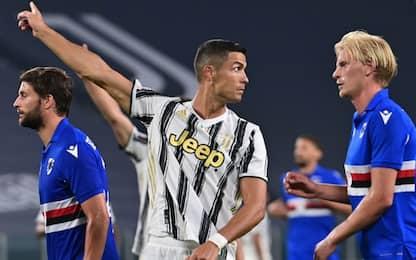 Juve-Sampdoria 1-0 LIVE: De Sciglio sfiora il gol