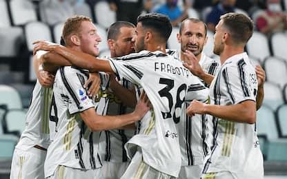 Pirlo, esordio con vittoria: Juve-Samp termina 3-0
