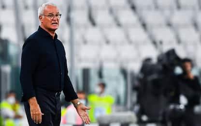 """Ranieri: """"Samp troppo pavida, così non va"""""""