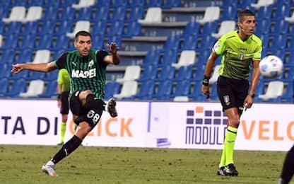 Bourabia salva il Sassuolo, 1-1 con il Cagliari