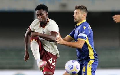 Roma, pasticcio su Diawara: rischia 0-3 a tavolino