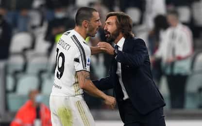"""Bonucci: """"Pirlo più simile ad Allegri che a Sarri"""""""