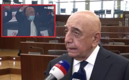 """Galliani: """"Esultanza per Ibra? Resto un tifoso"""""""